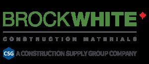 BrockWhite Construction Materials Logo